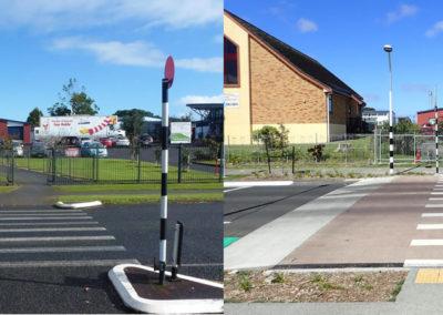 Mascot Avenue outside Nga Iwi School
