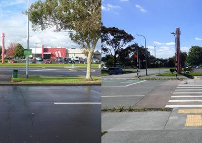 Pedestrian access across Mascot Avenue near Town Centre