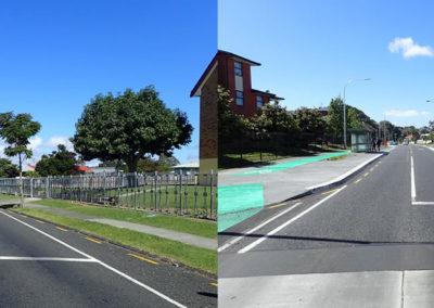 Mascot Avenue near Nga Iwi School